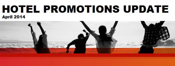 Hotels Promotion Update April (Q2) 2014