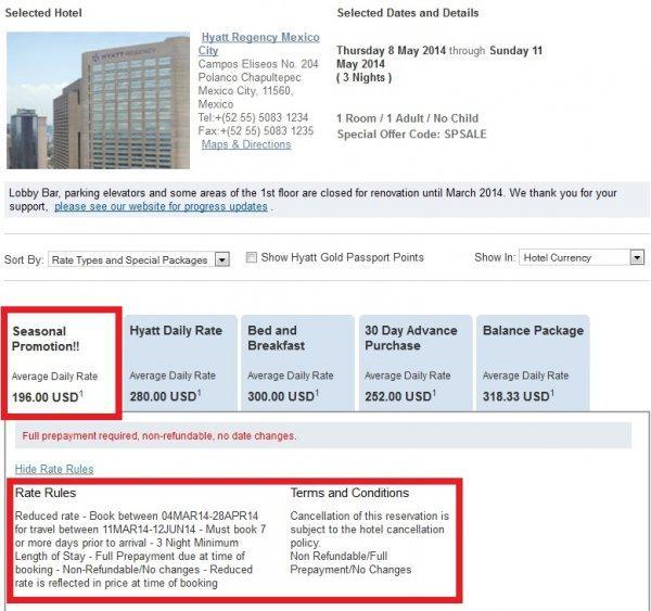 Hyatt Seasonal Sale Rate Search Hyatt Regency Mexico City