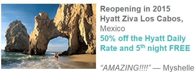 Hyatt Gold Passport Zilara Ziva 50 Percent Off Daily Rate Hyatt Ziva Los Cabos
