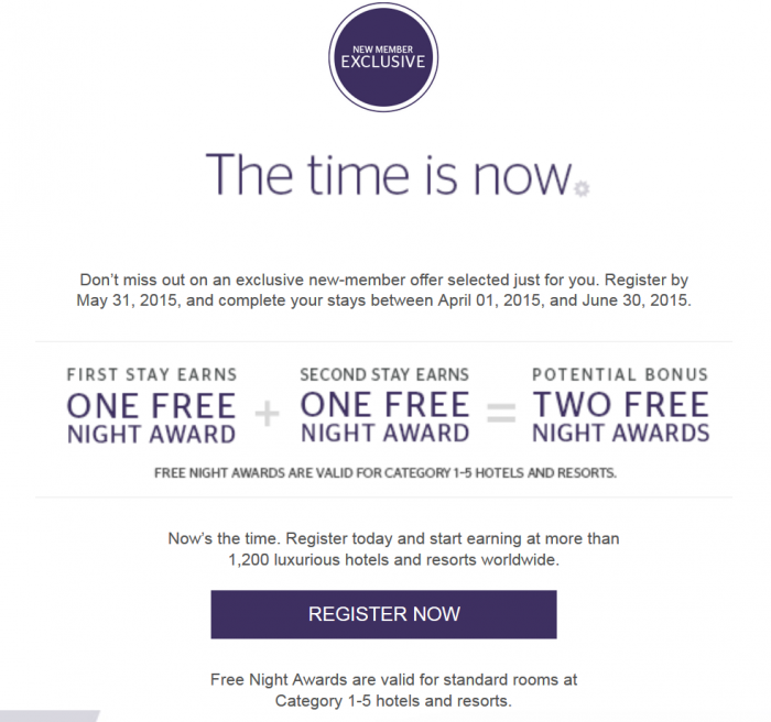SPG Select Member Exclusive 6 Email