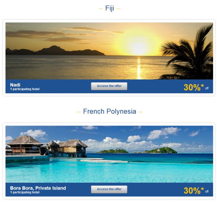 Le Club Accorhotels Asia Pacific Up To 50 Percent Off Private Sales Fiji & French Polynesia 1