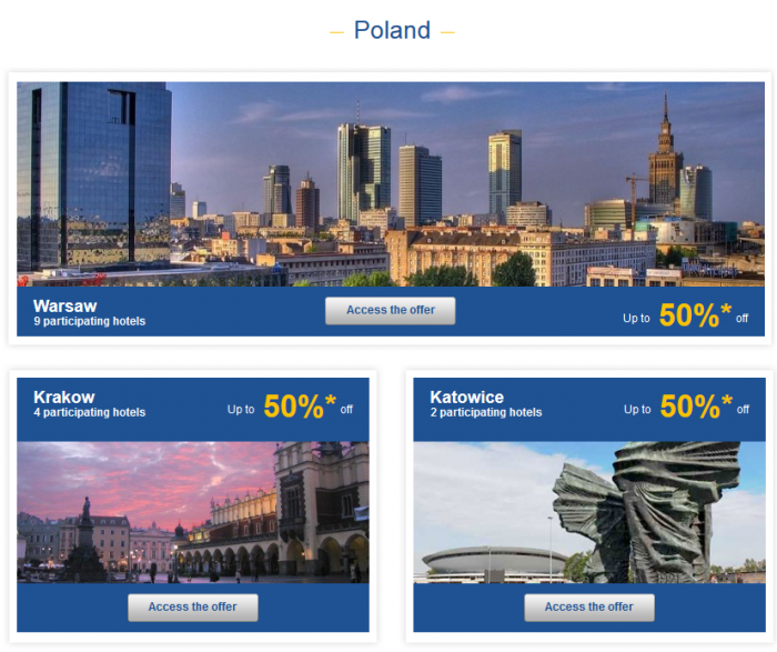 Le Club Accorhotels Private Sales May 19 - 16 2015 Poland 1