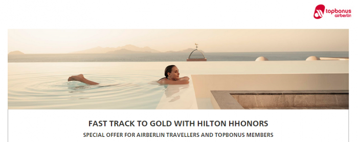 Hilton HHonors Gold Fast Track Thee Stays 90 Days December 31 2015
