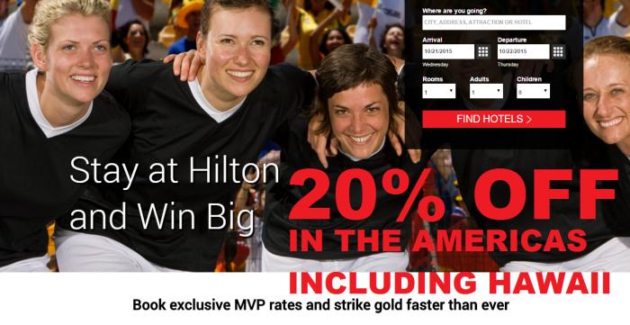Hilton HHonors MVP Update