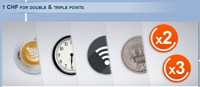 Le Club AccorHotels Double & Triple Points Switzerland November 1 - December 31 2015