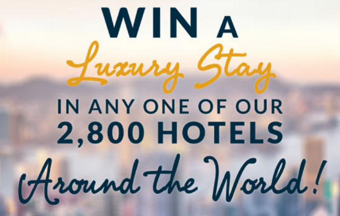 Le Club AccorHotels 100,000 Points Sweepstakes