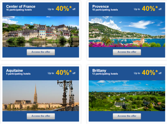 Le Club AccorHotels Europe Private Sales December 10 France 2