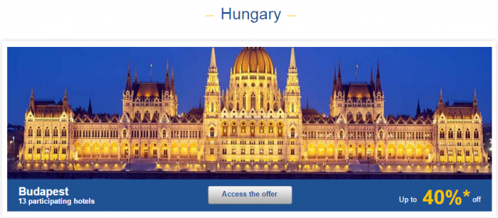 Le Club AccorHotels Europe Private Sales December 10 Hungary 1