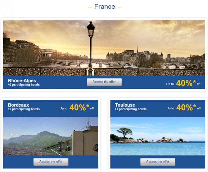 Le Club AccorHotels Europe Private Sales December 15 France 1