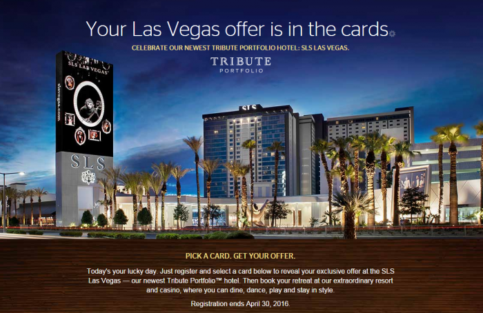 SPG SLS Tribute Las Vegas