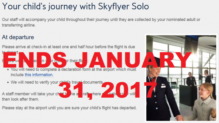 British Airways Ends Skyflyer Solo