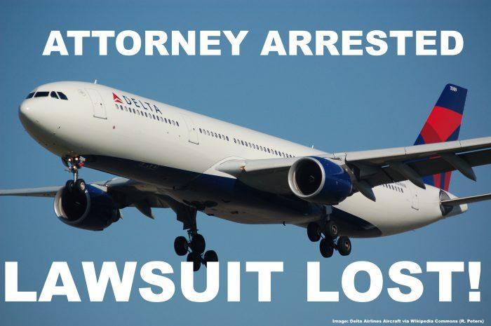 Delta Arrest Lawsuit