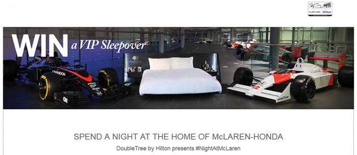 Hilton HHonors VIP Sleepover