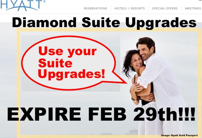Hyatt Suite Upgrades