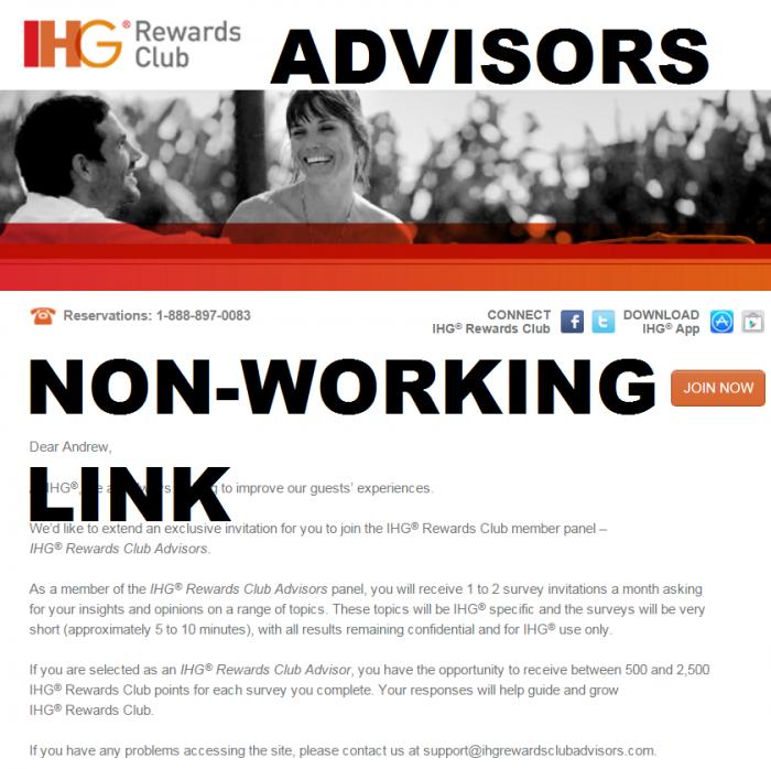 IHG Rewards Club Advisors