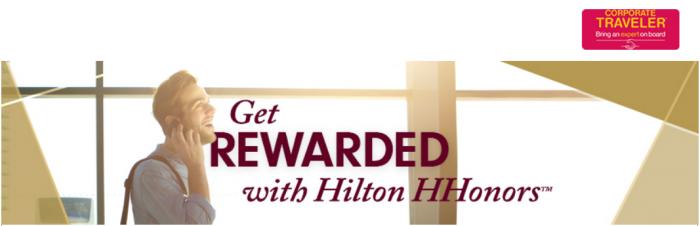 Hilton HHonors Gold Fast Track Corporate Traveler