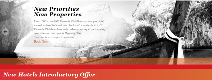 IHG Rewards Clun New Hotels Introductory Offers Europe April 2016