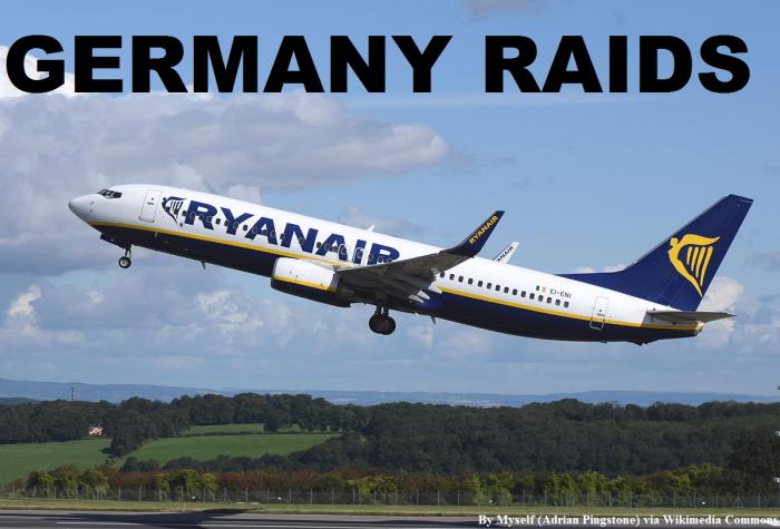 Ryanair Germany Raid