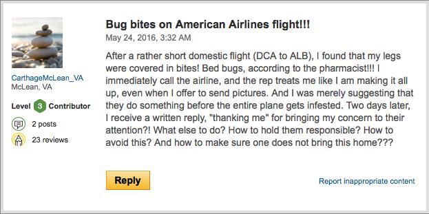 TA Post Bedbugs