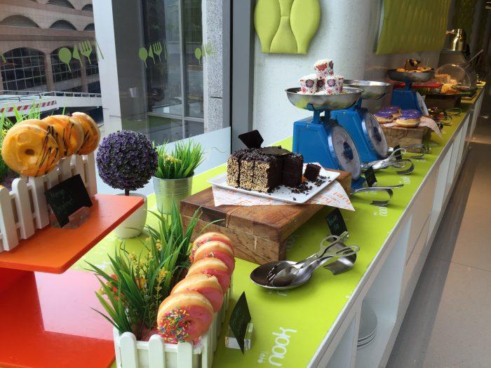 Aloft Breakfast Pastries
