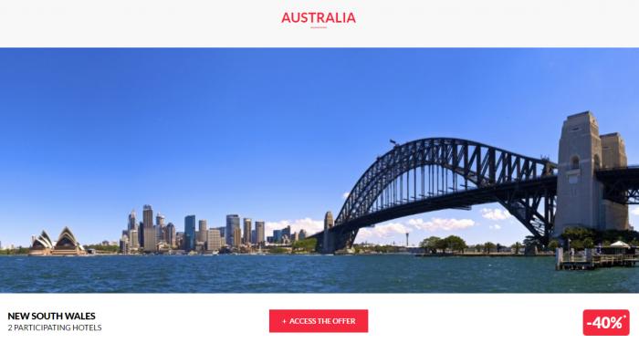 Le Club AccorHotels Worldwide Private Sale December 29 2016 Australia 1