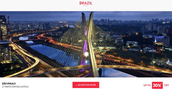 Le Club AccorHotels Worldwide Private Sale December 29 2016 Brazil 1