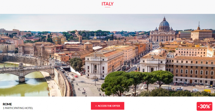 Le Club AccorHotels Worldwide Private Sale December 29 2016 Italy 1