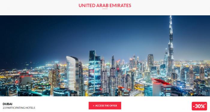 Le Club AccorHotels Worldwide Private Sale December 29 2016 UAE 1