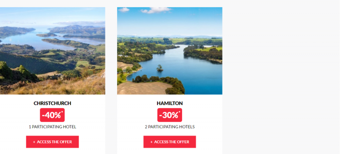 Le Club AccorHotels Private Sales January 5 2017 New Zealand 2