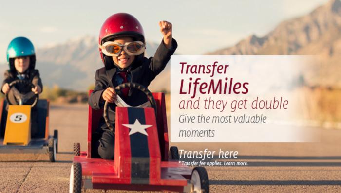 Avianca LifeMiles Double Miles Transfer Promo February 2017