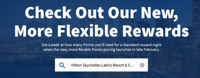 Hilton Honors Points & Money Update