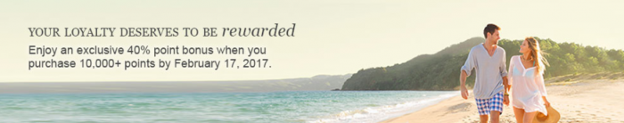 Hyatt Gold Passport Buy Points Up To 40 Percent Bonus February 1 - 17 2017