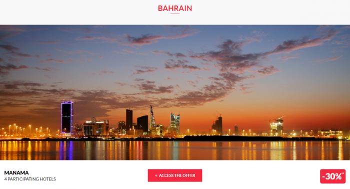 Le Club AccorHotels Private Sales Bahrain 1