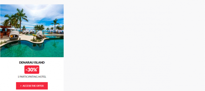 Le Club AccorHotels Worldwide Up To 50 Percent Off Private Sales February 15 Fiji 2