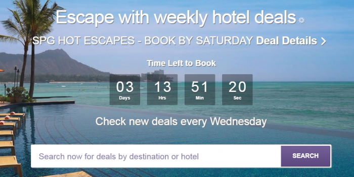 SPG Hot Escapes February 1 2017