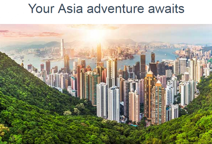 American Airlines AAdvantage Asia Bonus Miles March 30 - May 31 2017