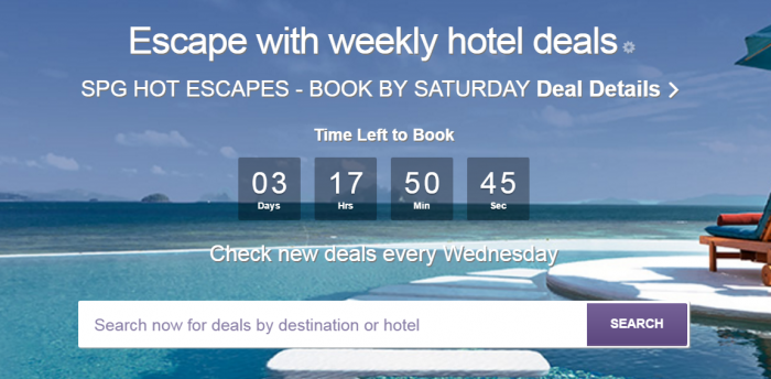 SPG Hot Escapes March 29 2017