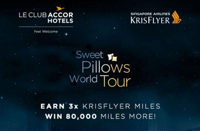 Le CLub AccorHotels Singapore Airlines KrisFlyer Triple Miles April 10 - June 30 2017