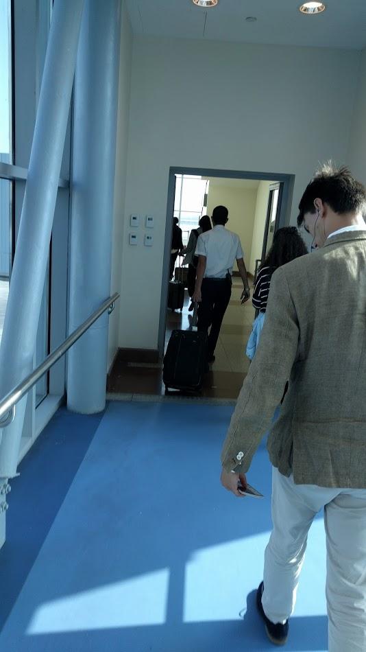 British Airways Electronics Ban Cairo Gate Check