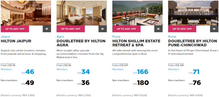 Hilton Honors Asia-Pacific Up To 40 Percent Off Flash Sale May 2017 Maldives India Sri Lanka 2