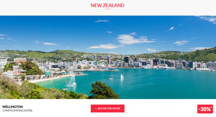 Le Club AccorHotels Private Sales May 10 2017 New Zealand 1