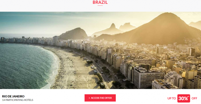 Le Club AccorHotels Private Sales May 17 Brazil 1