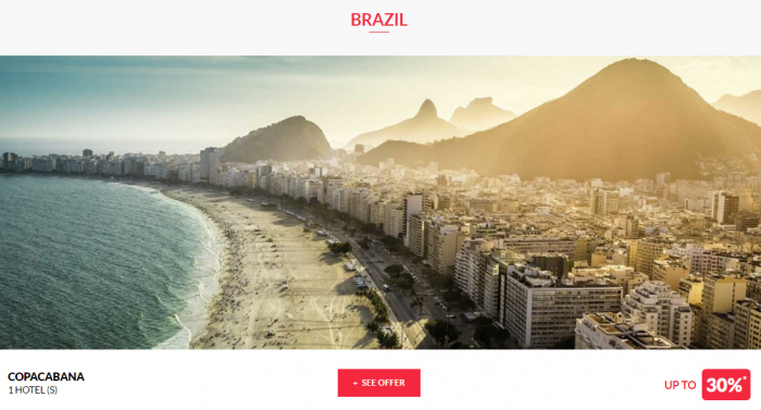 Le Club AccorHotels Worldwide Private Sales May 3 2017 Brazil 1