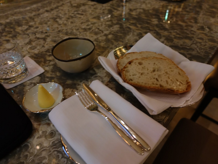 Park Hyatt Bangkok - Lobby Bar - Embassy Room Bread