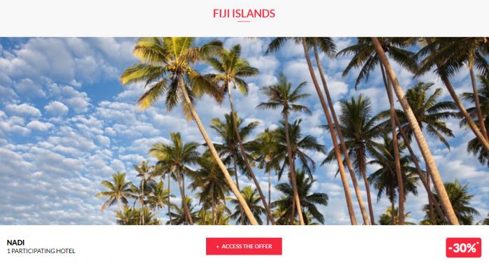 Le Club AccorHotels Worldwide Private Sales June 28 2017 Fiji 1