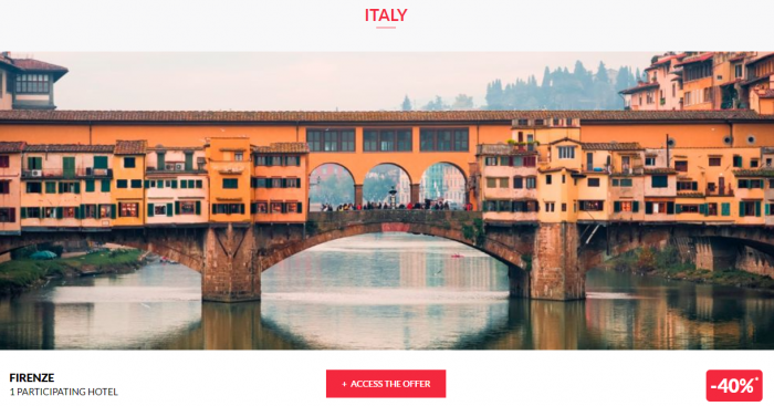 Le Le Club AccorHotels Worldwide Private Sale Italy 1