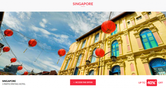 Le Le Club AccorHotels Worldwide Private Sale Singapore 1