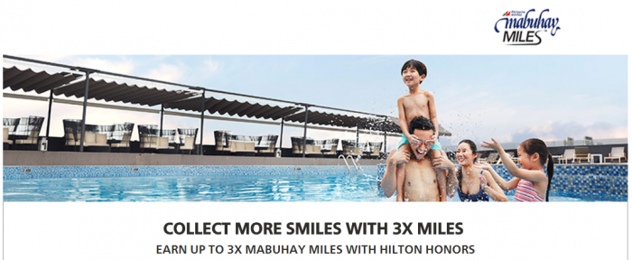 Hilton Honors Philippine Airlines Up To Triple Mabuhay Miles August 1 - September 30 2017
