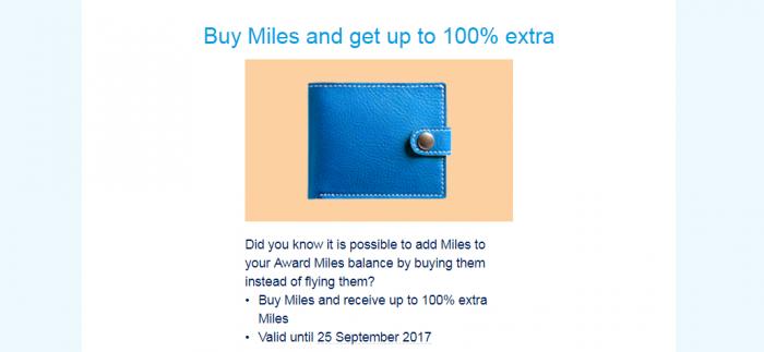 Air France - KLM Flying Blue Buy Miles Campaign September 2017